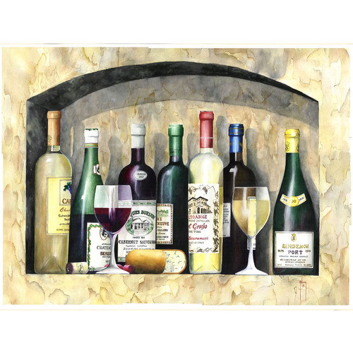 Ancient Wine - DIY Painting By Numbers Kit