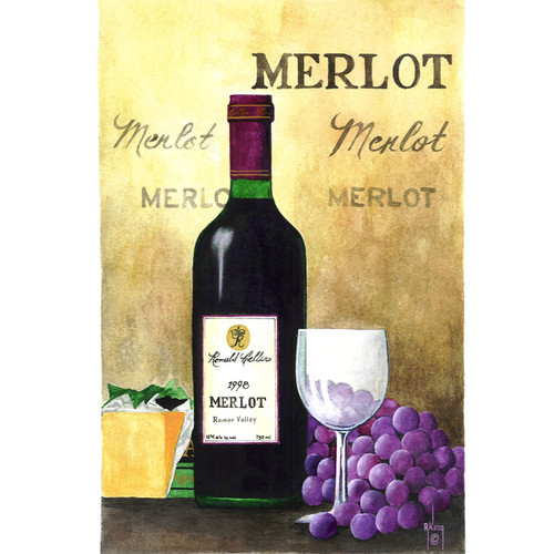 Merlot - DIY Painting By Numbers Kit