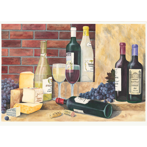 Fume and Chianti - DIY Painting By Numbers Kit