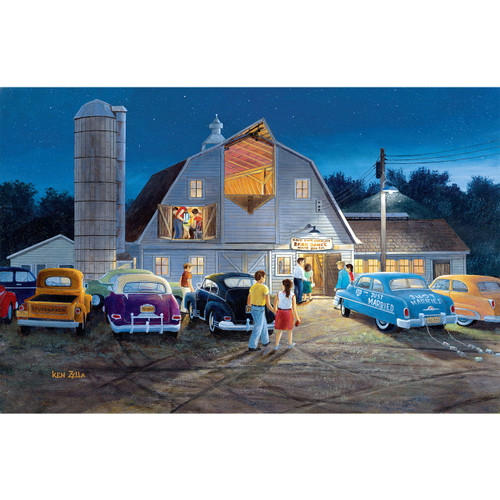 Country Barn Dance - DIY Painting By Numbers Kit