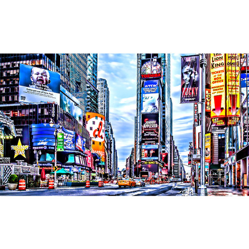 Times Square - DIY Painting By Numbers Kit