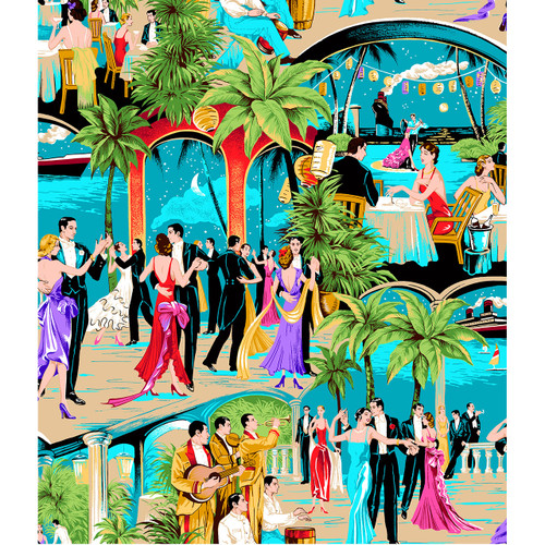 Dance in the Tropics - DIY Painting By Numbers Kit