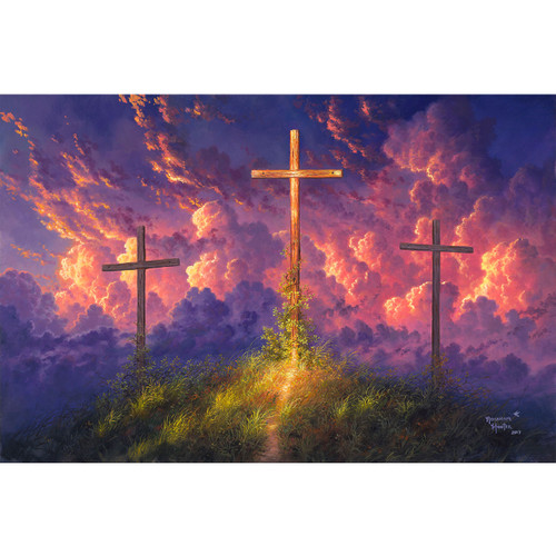 Old Rugged Cross - DIY Painting By Numbers Kit