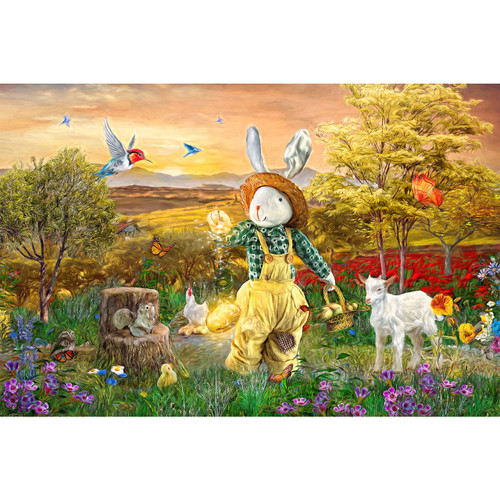 Magical Bunny - DIY Painting By Numbers Kit