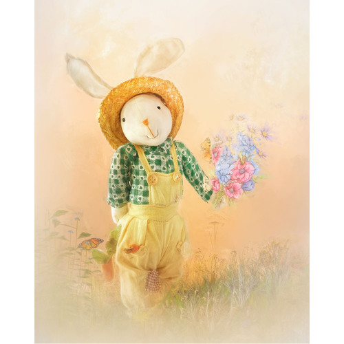Soft Bunny - DIY Painting By Numbers Kit