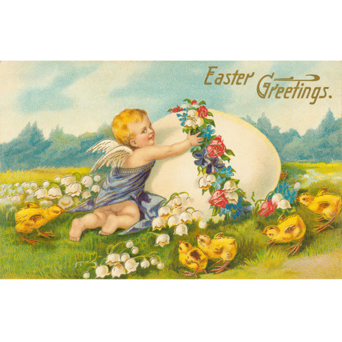 Easter Greetings - DIY Painting By Numbers Kit