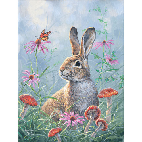 Curious Cottontail - DIY Painting By Numbers Kit