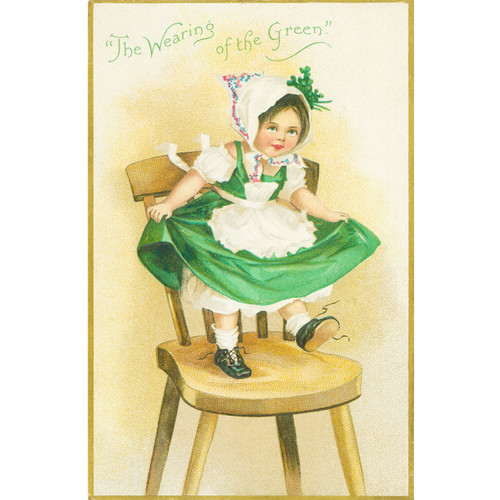Wearing Green - DIY Painting By Numbers Kit