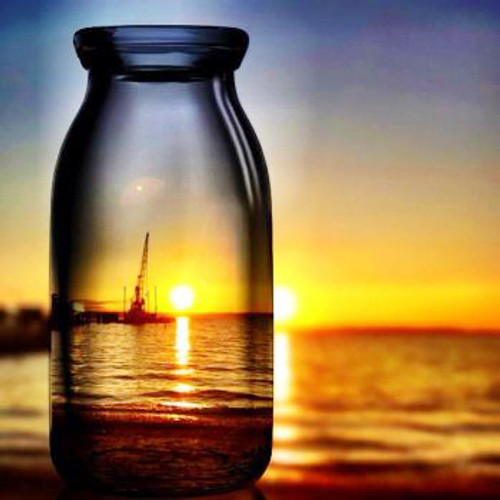 Horizon Sunset Reflection - DIY Paint By Numbers Kit