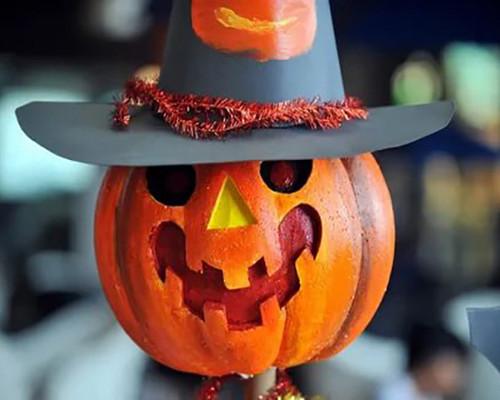 Festive Pumpkin Decoration  - DIY Paint By Numbers Kit