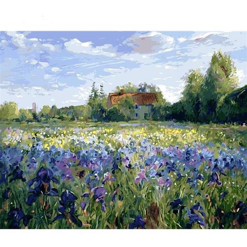 Lavender Lawn - DIY Painting By Numbers Kits