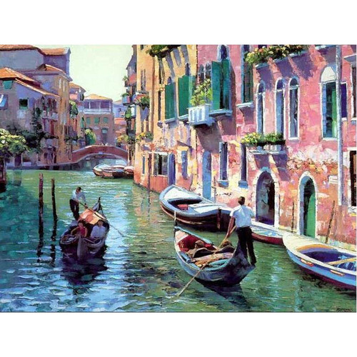 A Beautiful View In Venice - DIY Painting By Numbers Kit