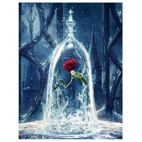Enchanted Rose - DIY Painting By Numbers Kit