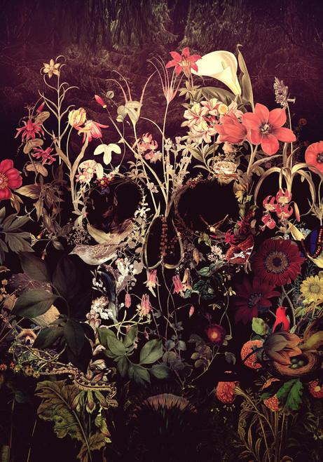 Skull Flower- DIY Painting By Numbers Kit