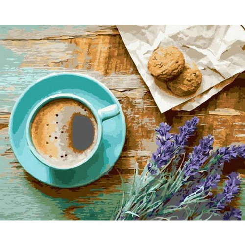 Coffee Decor - DIY Painting By Numbers Kit