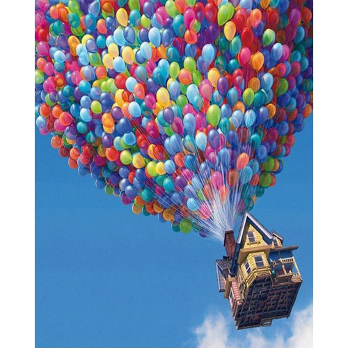 Up Up And Away - DIY Painting By Numbers Kit