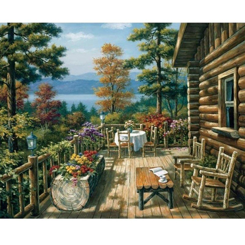 Cabin Life - DIY Painting By Numbers Kits