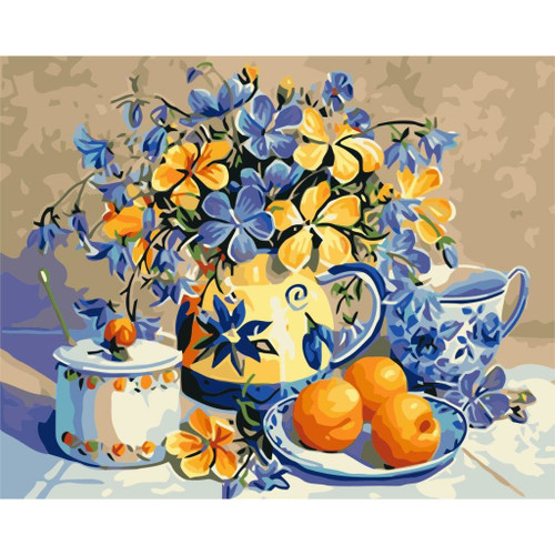 Classy Arrangement - DIY Painting By Numbers Kit