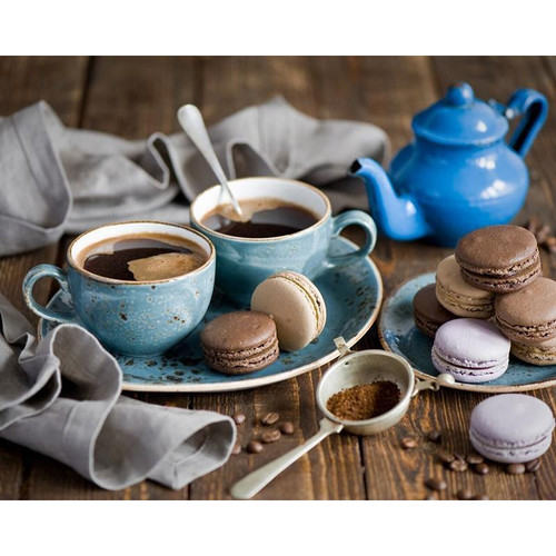 Coffee Time - DIY Painting By Numbers Kit