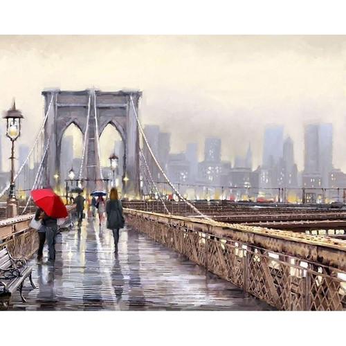 On The London Bridge - DIY Painting By Numbers Kit