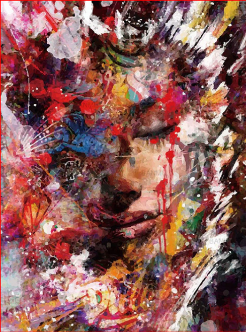 Abstract Paints - DIY Painting By Numbers Kit