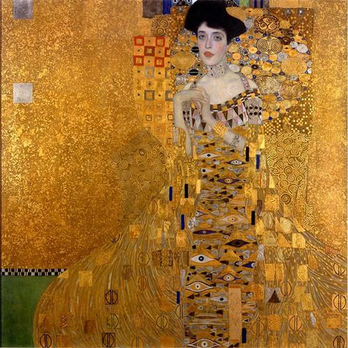 Portrait of Adele Bloch-Bauer I, Gustav Klimt - DIY Painting By Numbers Kit