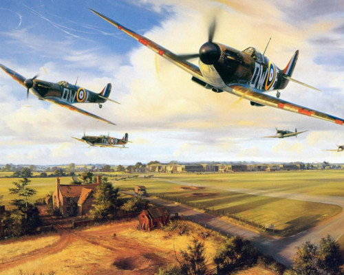Aircraft Action - DIY Painting By Numbers Kit