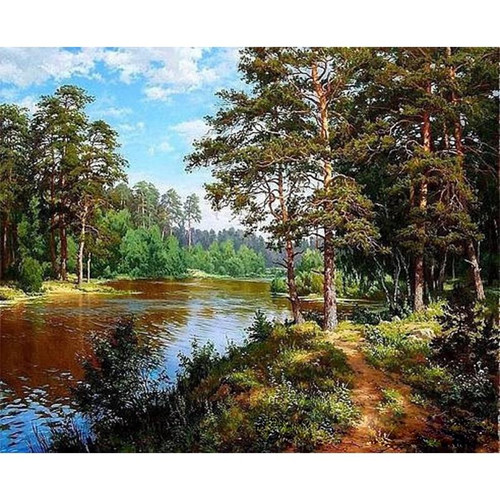 A Nature's View - DIY Painting By Numbers Kit