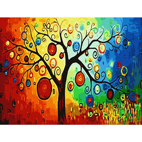 Abstract Tree - DIY Painting By Numbers Kit