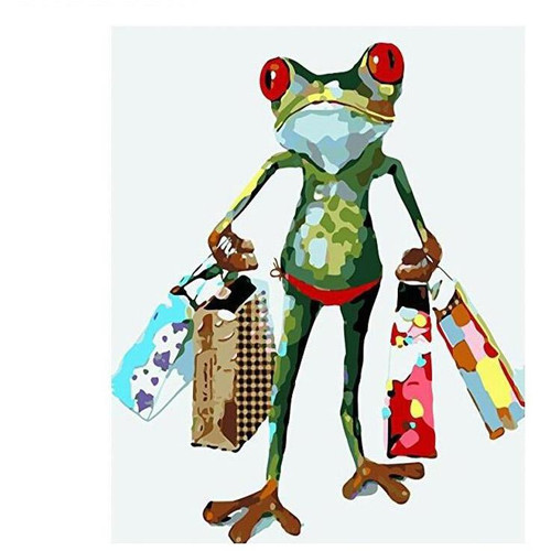 Crazy Frog - DIY Painting By Numbers Kits