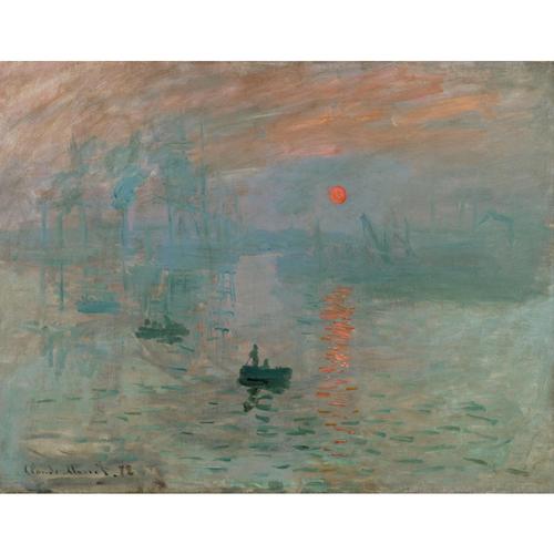 Impression , Sunrise - Claude Monet 5D DIY Paint By Number Kit