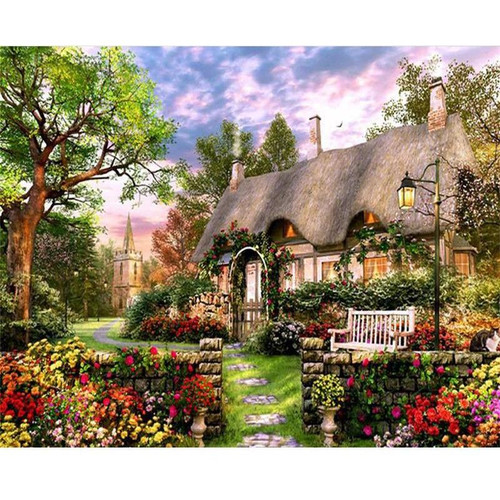 Enchanted House - DIY Painting By Numbers Kit