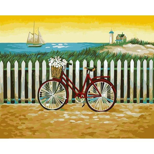 Beach Day - DIY Painting By Numbers Kits