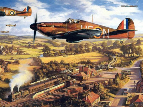 Aircraft Vintage - DIY Painting By Numbers Kit