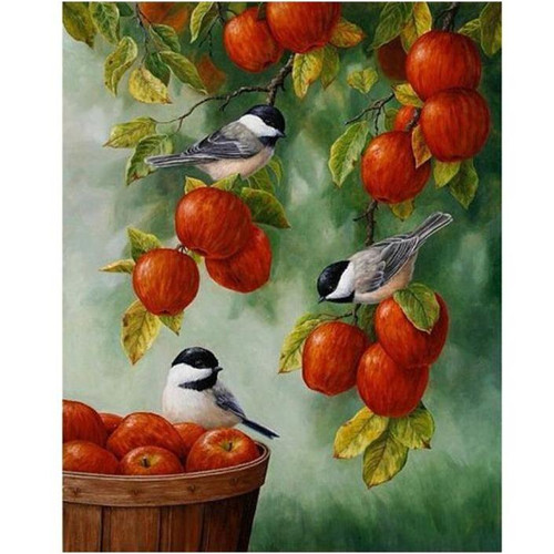 Apple Tree - DIY Painting By Numbers Kits