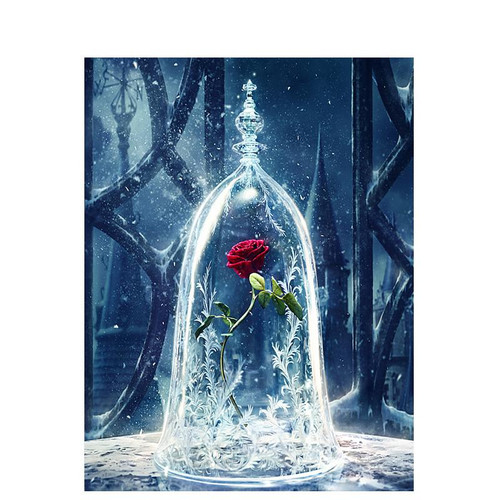 Beast's Rose - DIY Painting By Numbers Kit