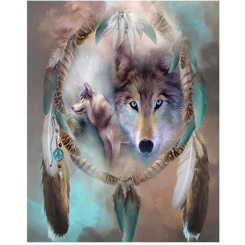 Wolf's Dream - DIY Painting By Numbers Kits