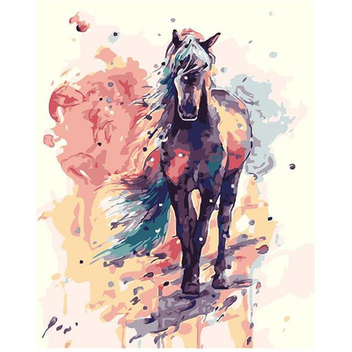 Horse's Dream - DIY Painting By Numbers Kit