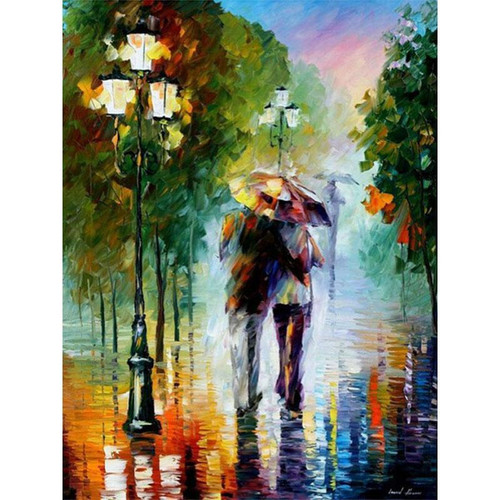 A Couple's Painting - DIY Painting By Numbers Kit