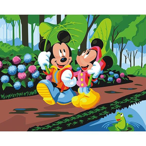 Animated Mickey - DIY Painting By Numbers Kit
