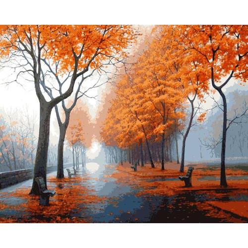 A Beautiful Path - DIY Painting By Numbers Kit