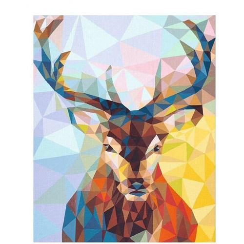 Pixel Deer - DIY Painting By Numbers Kits