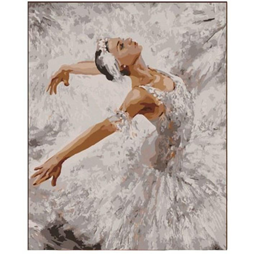 Ballet Dancer - DIY Painting By Numbers Kits