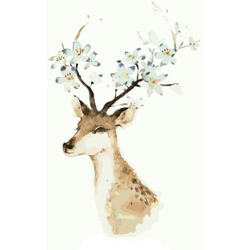Cheeky Deer - DIY Painting By Numbers Kit