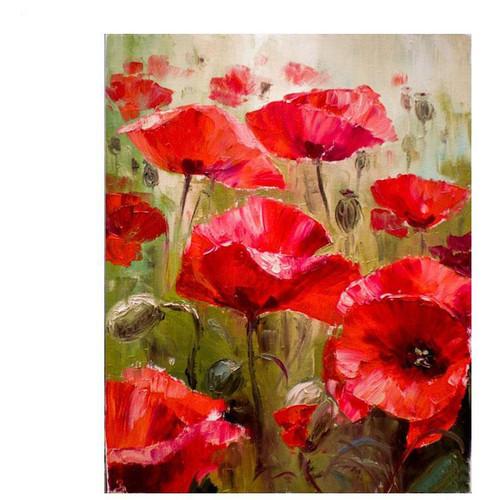Pastel Flowers - DIY Painting By Numbers Kit