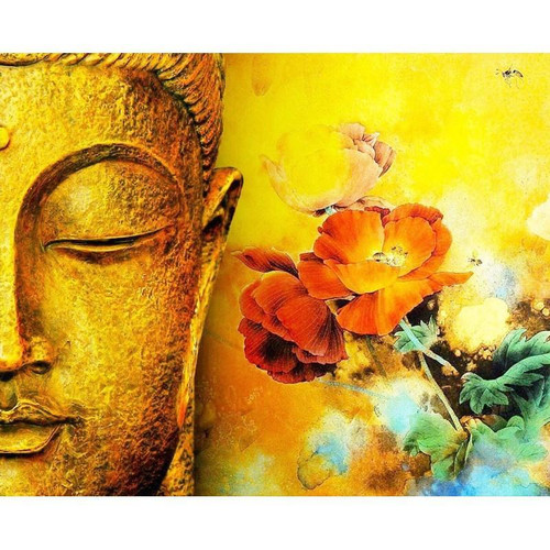 Beautiful Buddha - DIY Painting By Numbers Kit