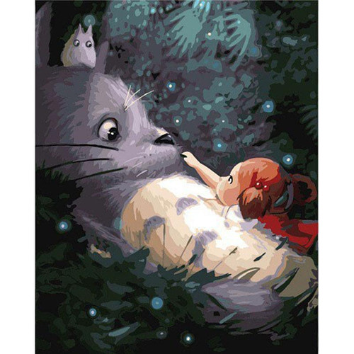 My Neighbor Totoro - DIY Painting By Numbers Kit