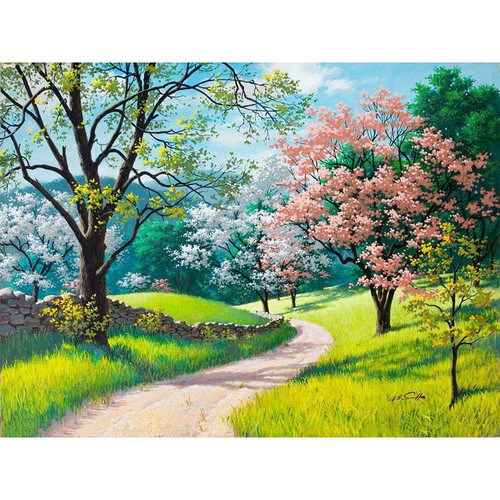 Beautiful Nature View - DIY Painting By Numbers Kit