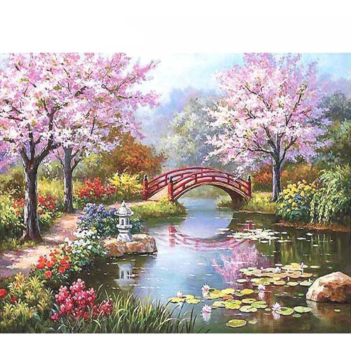 Beautiful Garden - DIY Painting By Numbers Kits