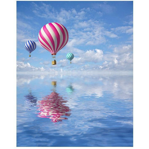 Air Balloon Adventure - DIY Painting By Numbers Kits